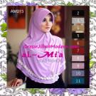 Jilbab Bergo Cantik Simple Almia Seri 15