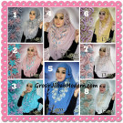 Jilbab Langsung Pakai Syria Pradani Simple Modis Original By Flow Idea