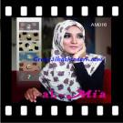 Jilbab Syria Instant Simple Almia Seri 16 Original Al-Mi'a Brand