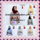 Jilbab Tangan Syar'i Al Waqiah Seri 3 Original by Apple Hijab Brand