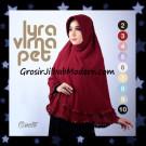Jilbab Khimar Terbaru Lyra Virna Pet Cantik Oroginal Fa Hijab Brand
