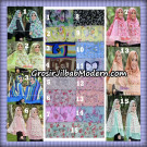 Jilbab Kombinasi Polos dan Flower  Khimar Michan Pet Seri 2 Original by Syahida Brand