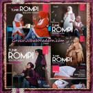 Jilbab Lengan Tunik Rompi Resleting Wudhu Original By Almia ( Al-Mi'a Brand )