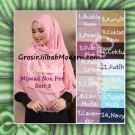 Jilbab Syar'i Khimar Mijwad Non Pet Seri 3 Original Qalisya Brand Series