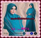 Gamis Polos Premium Anggun Original By Almia ( Al-Mi'a Brand )