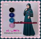 Gamis Premium Polos II Modis Original By Almia ( Al-Mi'a Brand )