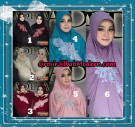 Jilbab Bergo Lengan Trendy Adela Original By Fadeya Brand Series