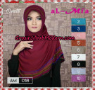 Jilbab Bergo Simple Almia AM018 Original By Al-Mi'a Brand