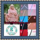 Jilbab Cerutti Jumbo Khimar Syar'i Taqiya Non Pet Ukuran XXL Seri 2 Original By Qalisya Brand