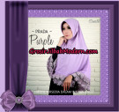 Jilbab Instant Bergo Prada Purple Support By Oneto