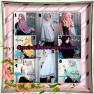 Jilbab Instant Bergo Syar'i Prada Ranting Support By Oneto Hijab