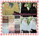 Jilbab Instant Khimar Syar'i Halwa Glitter Non Pet XL Seri 2 Trendy  Original By Qalisya Brand