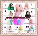 Jilbab Modern Instant Cantik Deeja Sequin Original By Apple Hijab Brand