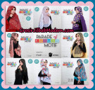 Jilbab Parade Of Khimar Motif Kombinasi Polos Pet Supported By Oneto