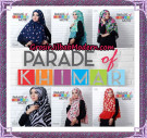 Jilbab Parade Of Khimar Motif Tanpa Pet Support By Oneto