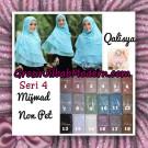 Jilbab Syar'i Khimar Mijwad Non Pet Seri 4 Original By Qalisya Brand
