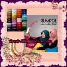 Jilbab Syria Layer Rumana Polos Seri 3 Trendy Series