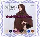 Jilbab Instant Bergo Simple Hijab Seri 02 Support By Oneto Hijab