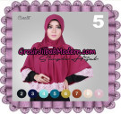 Jilbab Instant Bergo Simple Hijab Seri 5 Support By Oneto Hijab