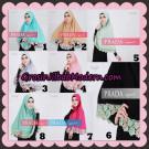 Jilbab Instant Prada Jumbo Syar'i Mawar Support By Oneto Hijab