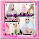 Jilbab Simple Modis Syria Classy Original By Narinda Hijab Brand