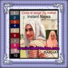 Pashmina Instant Modis Najwa Jersey Mix Cerutti Original By Rakha Brand