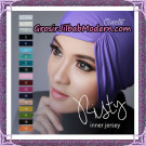 Inner Jilbab Kerut Risty Bahan Jersey Support By Oneto Hijab