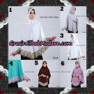 Jilbab Bergo Metalic Two Tone Support By Oneto Hijab