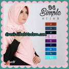 Jilbab Bergo Modis Simple Hijab 04 Support By Oneto Hijab