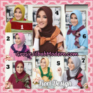 Jilbab Instant Modis Daily Pepita Original by Fiori Design