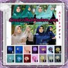 Jilbab Khimar Cerutti Syar'i Atika Pet Original By Syahida Hijab Brand