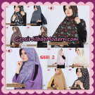 Jilbab Khimar Motif Pet Seri 2 Cantik Support By Oneto Hijab