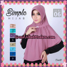 Jilbab Modern Cantik Simple Hijab 06 Support By Oneto Hijab