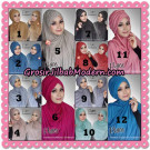 Jilbab Pasiria Turbanis Cantik Original by Flow Idea