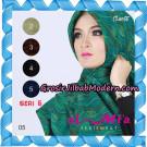 Jilbab Segi Empat Almia Seri 05 Original By Almia ( Al-Mi'a Brand )