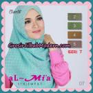 Jilbab Segi Empat Almia Seri 7 Simple Original By Almia ( Al-Mi'a Brand )
