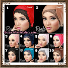 Dalaman Jilbab Inner Risty Renda Original By Oneto Hijab Brand