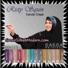 Jilbab Khimar Instant Risty Squin Original By Rakha Hijab Brand