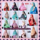 Jilbab Khimar Motif Non Pet Seri 1 Support By Oneto Hijab