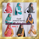 Jilbab Khimar Motif Non Pet Seri 2 Support By Oneto Hijab