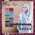 Jilbab Khimar Saten Ala Risty Tagor Elegan Original By Rakha Brand