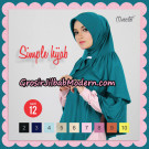 Bergo Simple Hijab Seri 12 By Firza Hijab Support Oneto