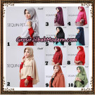 Jilbab Instant Sequin Pet Original By Sayra Hijab Brand