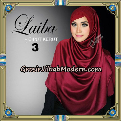 Jilbab Instant Silk Syria Laiba Original By Flow Idea ...