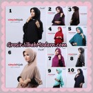 Jilbab Bergo Instant Simple Hijab Seri 13 By Firza Hijab Support Oneto