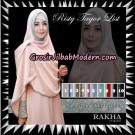 Jilbab Khimar Risty Tagor List Original By Rakha Hijab Brand