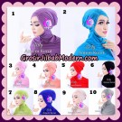 Inner Ninja Risty Antem Kerut Original By Apple Hijab Brand