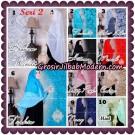 Jilbab Khimar Syari Sabqa Brukat Seri 2 Original By Qalisya Hijab Brand