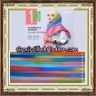 Pashmina Kombinasi Warna Pelangi Support Oneto Hijab