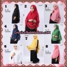 Hijab Syari Khimar Salma Premium Original By Rizky Ananda